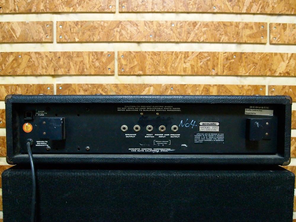 acoustic MODEL 220